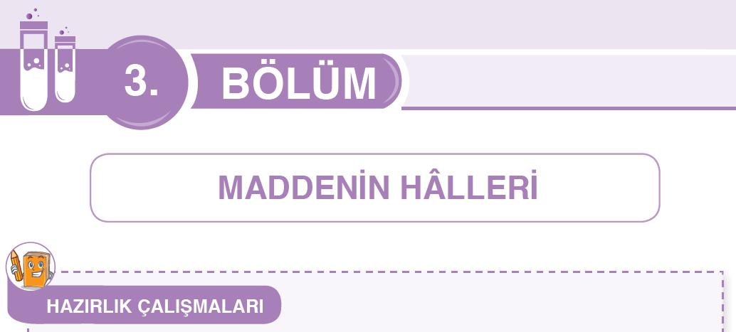 Maddenin Halleri Hazırlık Çalışmaları