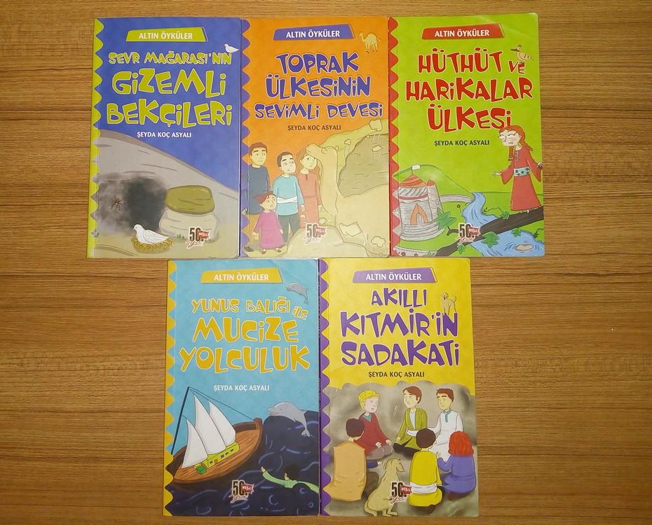 Altın Öyküler 5 Kitap