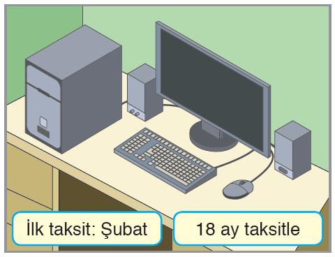 Bilgisayar taksit