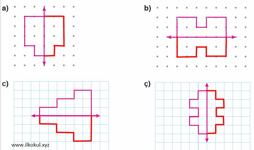 Simetriğini çiz