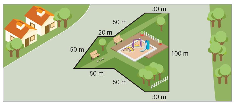 Parkın çevresi